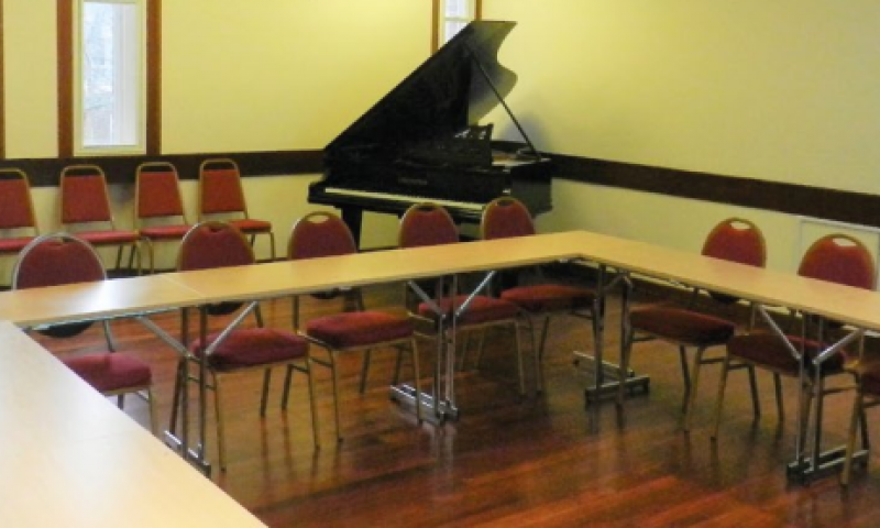 Fitzwilliam College Music room